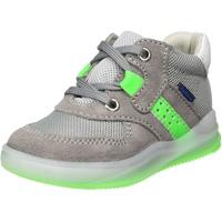 Richter Kinderschuhe Jungen Harry Hohe Sneaker, Grau (Stone/Flint/N.Gre/Wh 6601), 21 EU