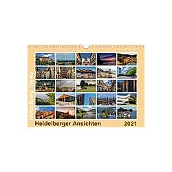 Heidelberg Views - Heidelberger Ansichten (Wandkalender 2021 DIN A4 quer)