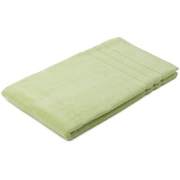 GÖZZE Frottier-Badvorleger Zero Twist Monaco Höhe 5 mm, beidseitig nutzbar, verwendbar, 0,8 kg/m² Gesamtgewicht grün Einfarbige Badematten