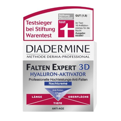 Diadermine Falten Expert 3D Hyaluron-Aktivator Anti-Falten Nachtcreme, 50 ml