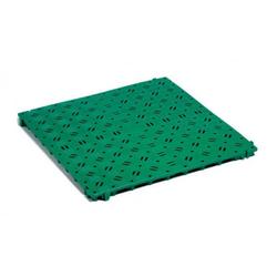 Kunststoff-Bodenrost Clippy grün 50 x 50 cm
