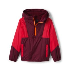 Windbreaker mit Fleece - 110/116 - Rot