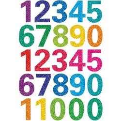 Sticker Magic Zahlen Glittery VE=1 Blatt