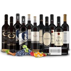 Italienische Rotwein-Selektion