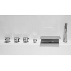 Emotion Whirlpool-Badewanne Vita Premium Wellness Whirlpool (L/B/H) 145x145x69,5 cm