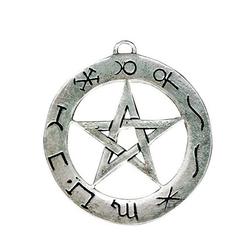 Adelia´s Amulett Siegel der Hexerei, Planeten Pentagramm - Erfolg bei Zaubersprüchen