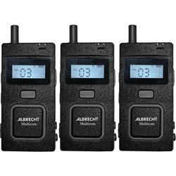 Albrecht Multicom 29961 Tour Guide System 3er Set