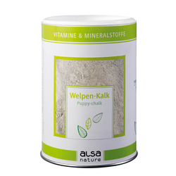 alsa-nature Welpen-Kalk, 500 g, Hundefutter