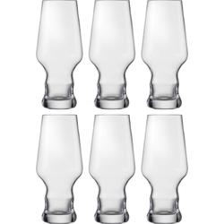 Eisch Bierglas Craft Beer Becher (6-tlg), bleifreies Kristallglas, 450 ml