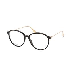 Dior DIORSIGHT O2 807, inkl. Gläser, Runde Brille, Damen