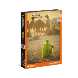 Clementoni® Puzzle Clementoni 39302 - National Geographic - Sari Puzzle 1000 Teile, Puzzleteile