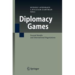 Diplomacy Games als Buch von