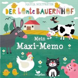 Der bunte Bauernhof - Mein Maxi-Memo 4305