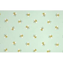 STAR Geschenkpapier, Geschenkpapier Bienen Muster 70cm x 2m, Rolle