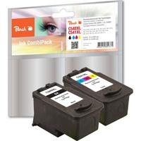 Peach kompatibel zu Canon PG-540XL schwarz + CL-541XL CMY (PI100-161)