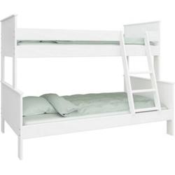 Etagenbett Oscar + Lattenrost 90x200 Hochbett 3 Pers. Kinderbett Bett Spielbett