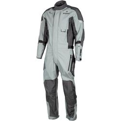 Klim Hardanger 1-Teiler Motorrad Textilkombi, grau, Größe M