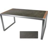 Garden Pleasure Gartentisch 160x90cm Terrassentisch Balkontisch Esstisch Gartenmöbel Tisch