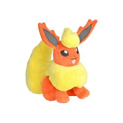 POKÉMON Plüschfigur Flamara - Pokémon Kuscheltier - 20 cm