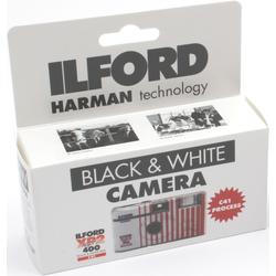 ILFORD Einwegkamera mit Blitz XP2 400 ISO 27 Bilder