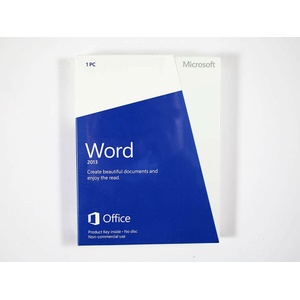 Word 2013 Vollversion, non-commercial, englisch - neu, SKU: 059-08400