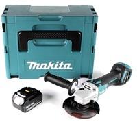 Makita DGA511T1J inkl. 1 x 5,0 Ah + Makpac Gr. 3