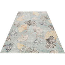 Esprit Teppich Rivera, rechteckig, 4 mm Höhe, In- und Outdoor geeignet blau Outdoor-Teppiche Teppiche