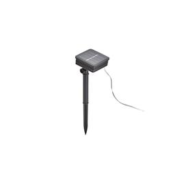 AMARE Gartenleuchte LED Lampion Lampenkette bunt