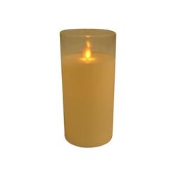 East Import LED-Kerze Glas 15 cm