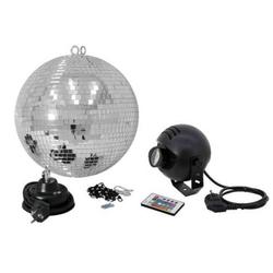 Eurolite LED Discokugel-Set mit Motor 20cm
