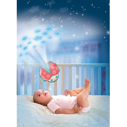Clementoni® Nachtlicht Nachtlicht Marienkäfer, Sternenhimmel Projektor
