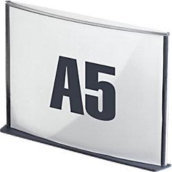 Paperflow Info-Display DIN A5 Kohle