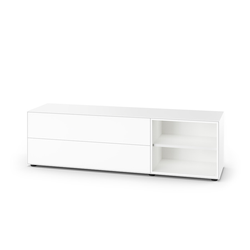 Sideboard Nex Pur Piure weiß, Designer Studio Piure, 52.5x180x48 cm