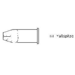 Weller LHT-F Lötspitze Flachform Spitzen-Größe 9.3mm Inhalt 1St.