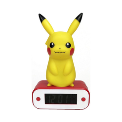 BigBen Radiowecker Digitaler Wecker Pikachu, mit LED-Lampe