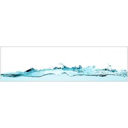 Küchenrückwand - Spritzschutz profix, Wasser, 220x60 cm blau