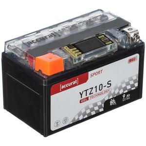 Accurat Sport GEL LCD YTZ10-S Motorradbatterie 9Ah 12V (DIN 50922) YG10ZS YT10B-4