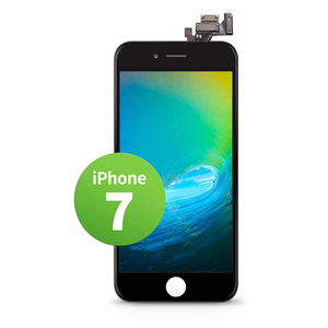 Giga Fixxoo iPhone 7 Display (Display, iPhone 7), Mobilgerät Ersatzteile, Schwarz