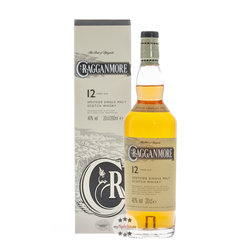 Cragganmore 12 Jahre Single Malt Whisky 0,2 l