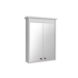 Vicco Badezimmerspiegelschrank Spiegelschrank ALBATROS Weiß Spiegel Badspiegel Bad Wandspiegel Badezimmer