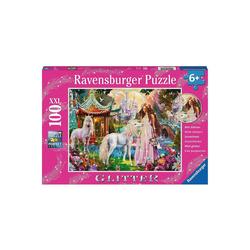 Ravensburger Puzzle Puzzle, 100 Teile XXL, 49x36 cm, mit Glitzer, Im, Puzzleteile