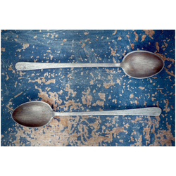 Art & Pleasure Metallbild Spoon, Geschirr & Besteck