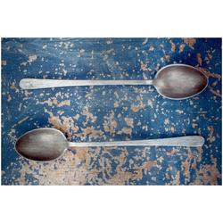 Art & Pleasure Metallbild Spoon, Geschirr & Besteck