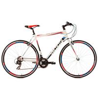 KS-CYCLING Velocity Fitnessbike 28 Zoll RH 59 cm weiß