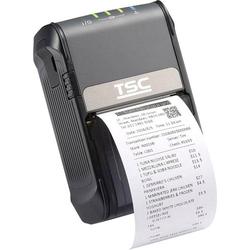 TSC ALPHA-2R Bon-Drucker Thermodirekt 203 x 203 dpi Schwarz USB, Bluetooth®, Akku-Betrieb