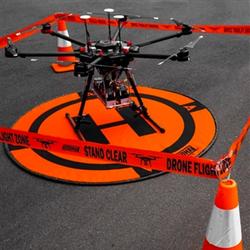 HOODMAN Drone Flight Zone Tape Roll (Absperrband)
