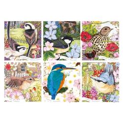 Otter House Puzzle Anne Mortimer RSPB Garden Birds 1000 Teile Puzzle, Puzzleteile bunt