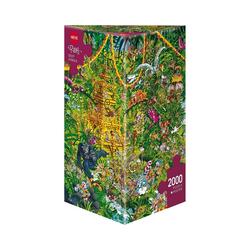 HEYE Puzzle Puzzle Deep Jungle, Ryba, 2000 Teile, Puzzleteile