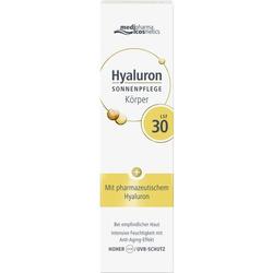 HYALURON SONNENPFLEGE Körper Creme LSF 30 150 ml