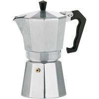 Kela 10591 Manuelle Kaffeemaschine Mokka-Kanne Aluminium